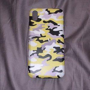 Camo iPhone XS MAX Case